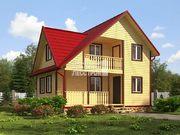 Проект дома Д-51. Размеры - 12х13м. Площадь - 146м2