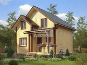 Проект дома Д-52. Размеры - 6х8м. Площадь - 91,5м2